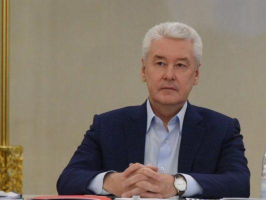 Собянин поздравил ветеранов с годовщиной контрнаступления в Битве за Москву