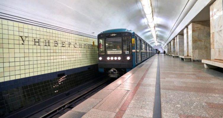 Поезд «Город образования» начал курсировать по «оранжевой» ветке метро