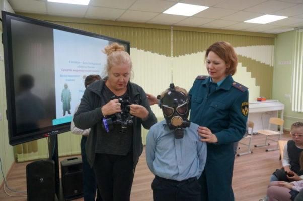 В «Солнышко» проведен Всероссийский урок ОБЖ
