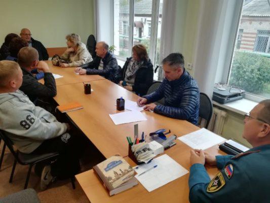 Проведен обучающий семинар по нормам пожарной безопасности
