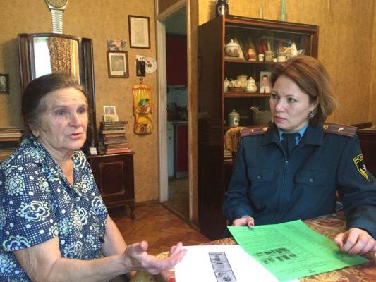 Проведены рейдовые обходы мест проживания семей и пожилых граждан поселений ТАО