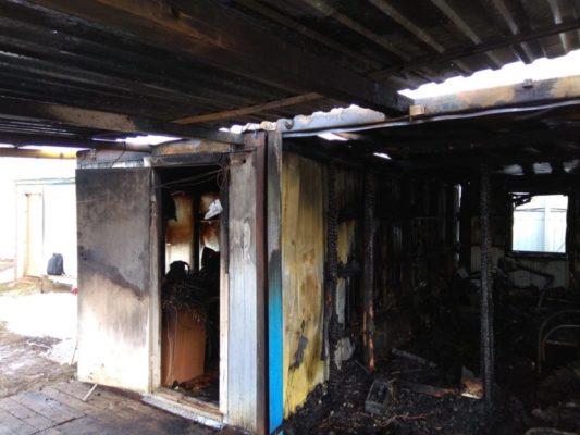 Соблюдение правил пожарной безопасности во временных строениях (бытовках)