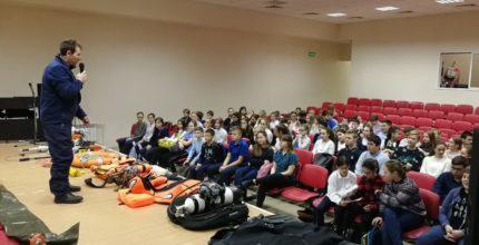 Гимназисты Троицка приняли участие в мероприятиях «Месяца БезОпасности»