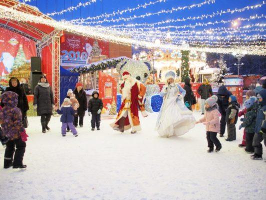 Дед Мороз, до встречи!