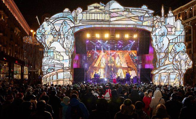 Более 2 млн человек приняли участие в праздничных гуляньях в столице 1 января