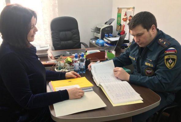 Сотрудник надзорной деятельности провела открытое занятие с дошкольниками