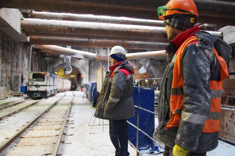 Москвичи приняли участие в слушаниях по строительству новой ветки метро. Фото: архив