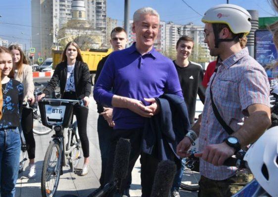 Собянин: В «Николин день» москвичи запустили 3300 бумажных корабликов