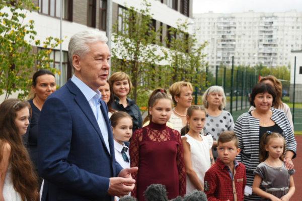 Собянин открыл второй участок трассы Солнцево-Бутово-Варшавское шоссе