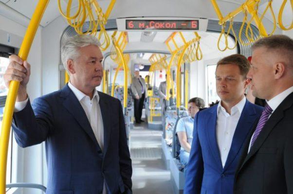 Собянин пригласил горожан посетить площадки Дня московского транспорта