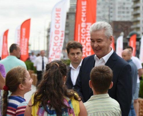 Собянин отметил влияние столичных фестивалей на увеличение турпотока
