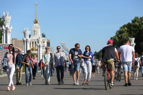 Семейный фестиваль на ВДНХ за полдня привлек более 90 тысяч человек
