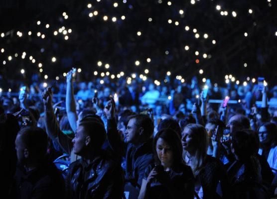 Около 40 тыс человек посетили концерт «PROлето» на Сахарова к шести часам