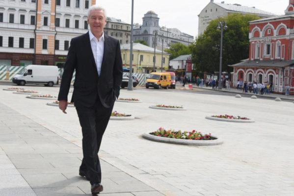 Собянин: Школьная улица станет пешеходной