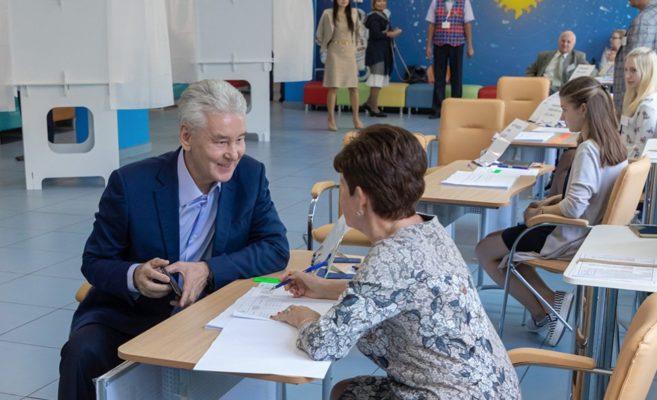Собянин призвал горожан прийти на выборы в Мосгордуму
