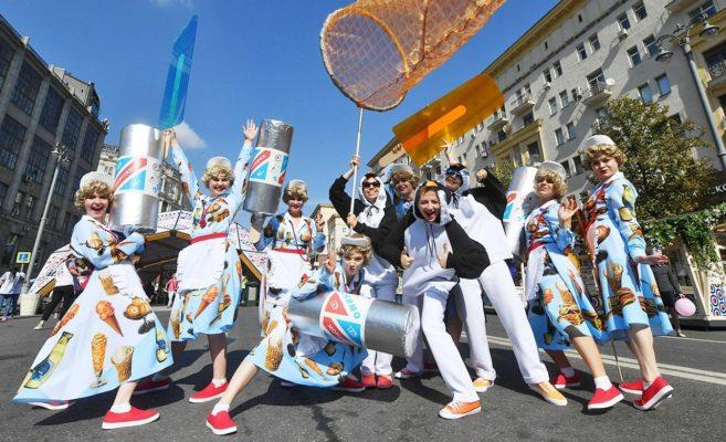 В праздновании Дня города уже приняли участие свыше 1,7 млн человек