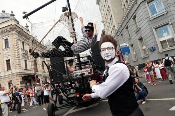В День города в столице пройдет «Театральный марш»