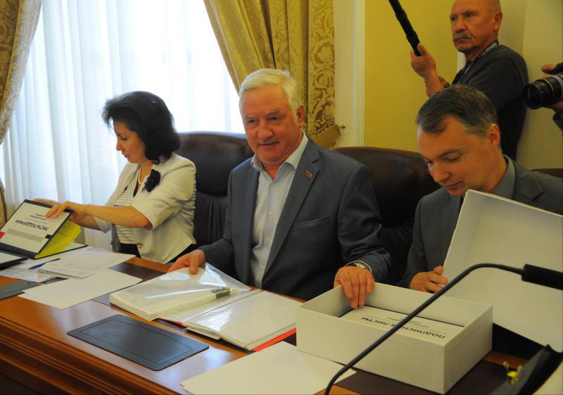 Глава МГИК отметил отсутствие нарушений в ходе голосования в Москве. Фото: Александр Кожохин, «Вечерняя Москва»