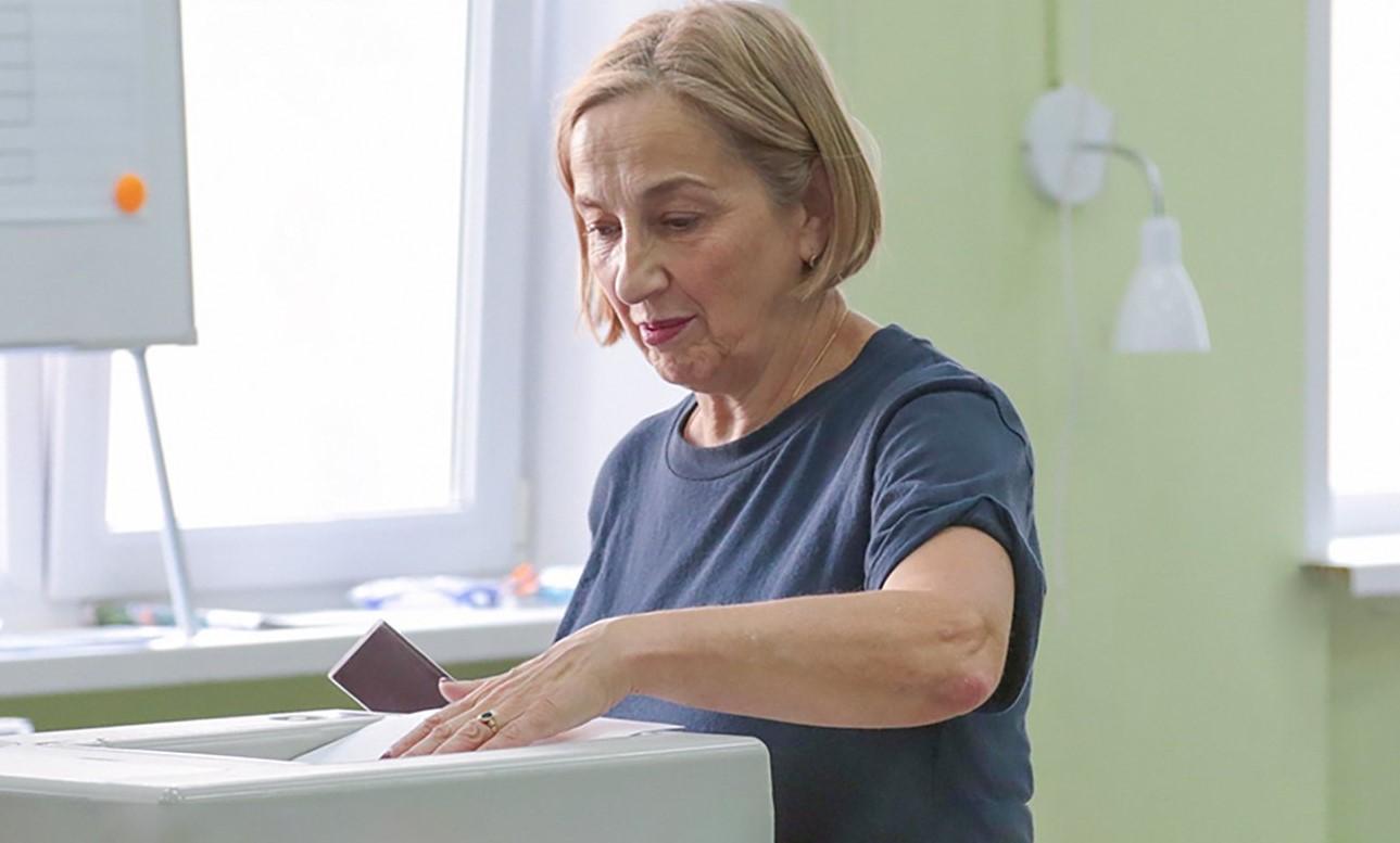 На выборах в Москве отмечено полное отсутствие жалоб на работу участков. Фото: сайт мэра Москвы