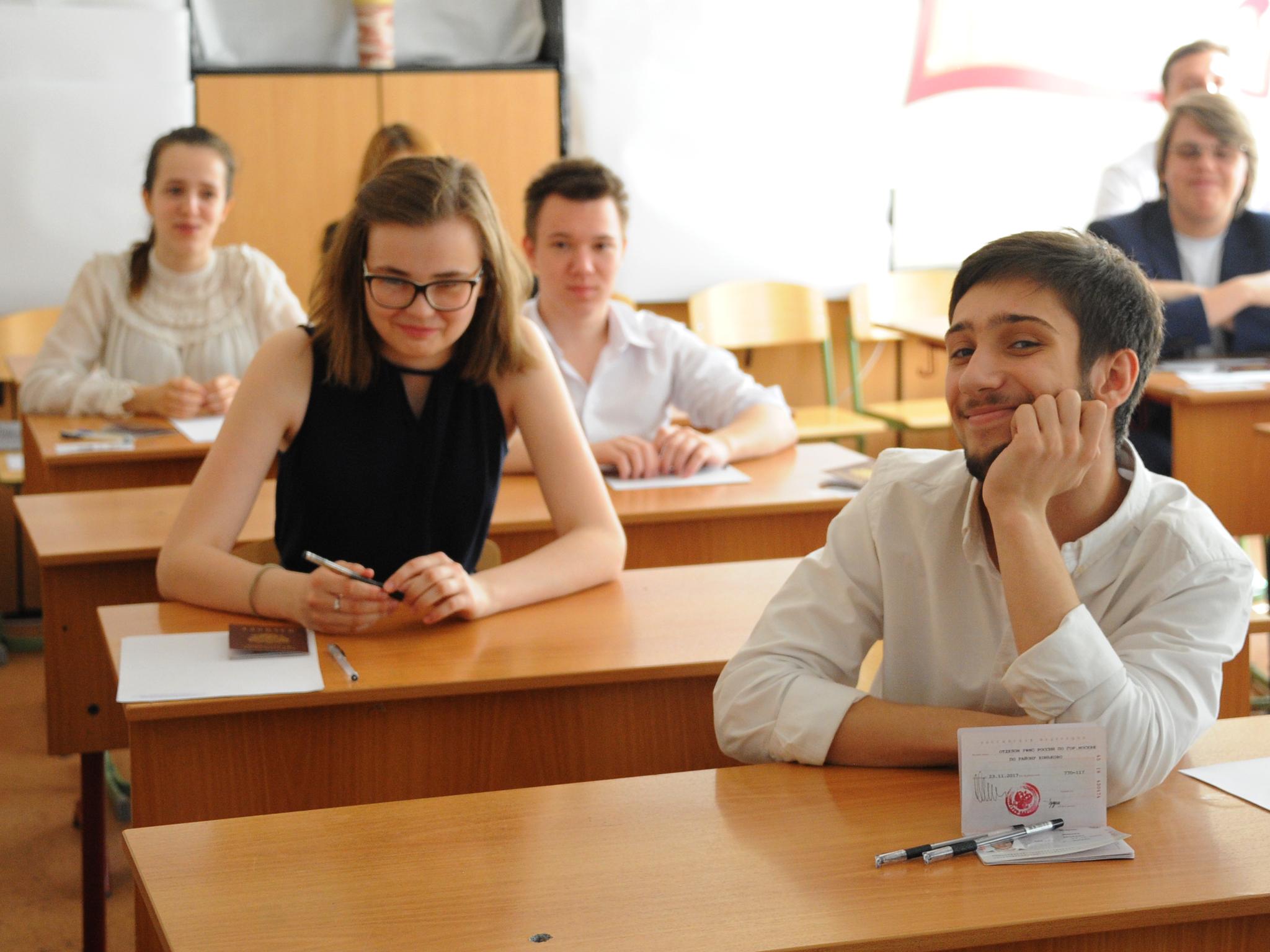 За первый месяц учебного года оценки в МЭШ проверяли 934 тыс москвичей. Фото: архив