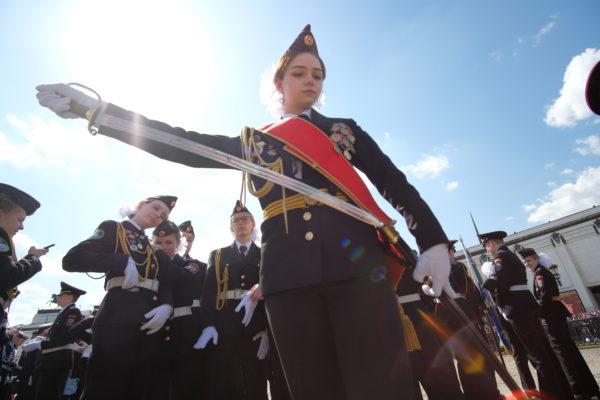 Около тысячи кадет и юнармейцев Москвы пройдут по Красной площади 7 ноября
