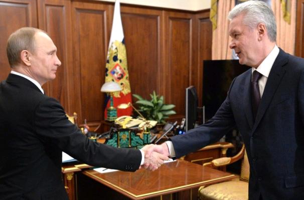 Путин и Собянин проехали по первому маршруту наземного метро Москвы