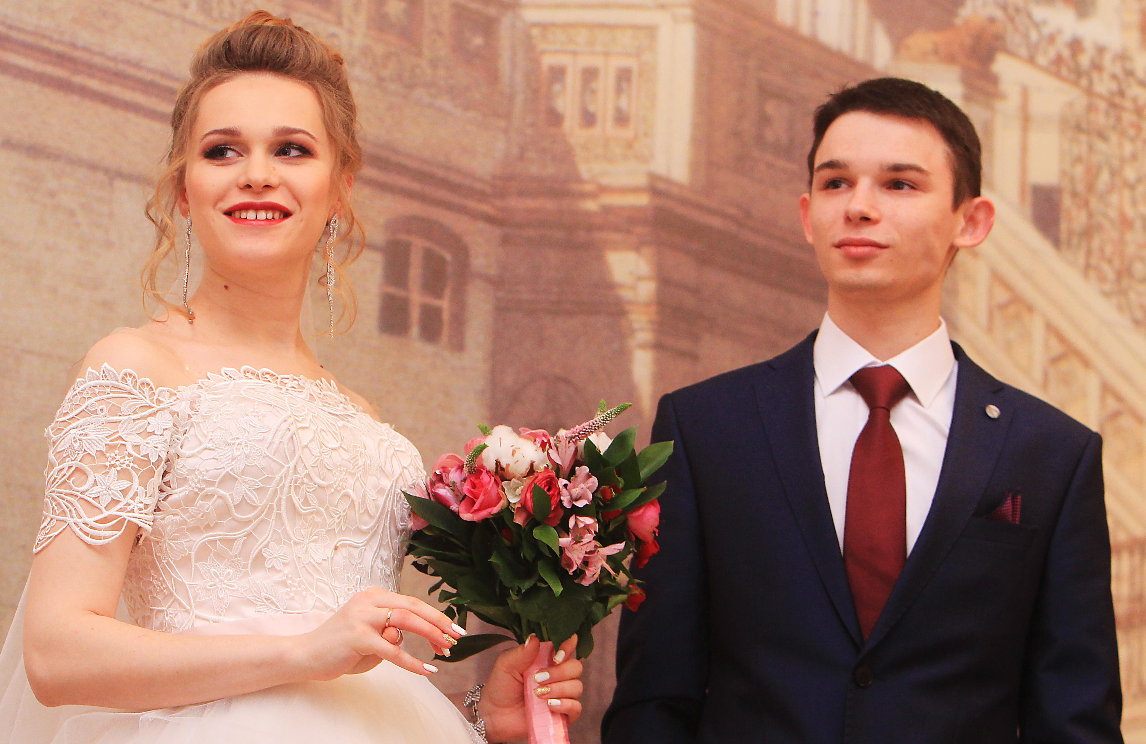 В столичных ЗАГСах в последний день года заключат брак более 470 пар. Фото: архив