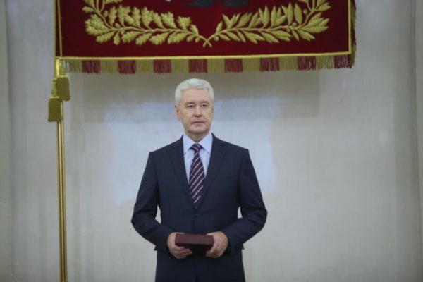 Собянин наградил лауреатов конкурса «Московская реставрация»