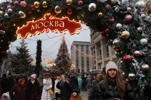 Горожане посетят новую новогоднюю экскурсию по достопримечательностям столицы