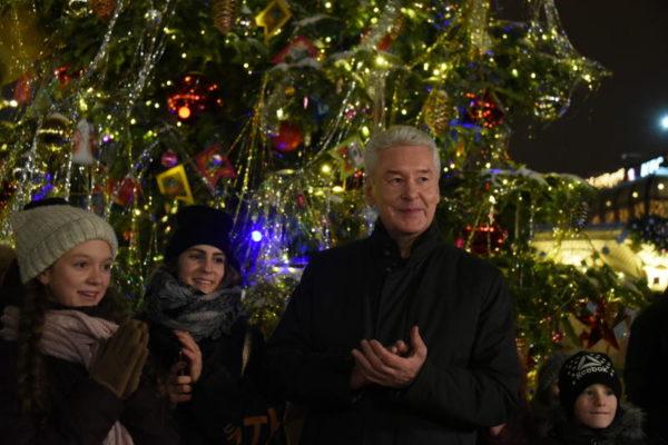 Мэр Москвы Сергей Собянин поздравил горожан с православным праздником Рождеством Христовым