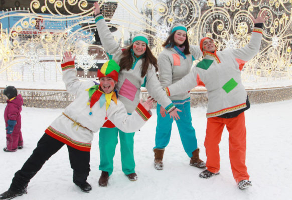 Москвичи смогут посмотреть на кукольные спектакли на площадках фестиваля «Путешествие в Рождество»