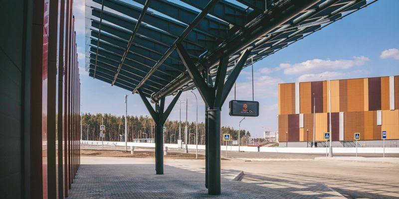 Транспортно-пересадочный узел «Саларьево» стал одним из наиболее важных объектов 2019 года