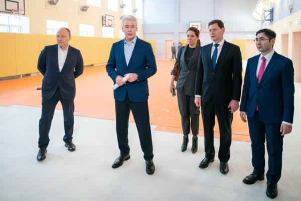 Собянин рассказал о ходе реализации программы «Мой район» в Куркине