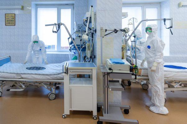 Москва прорабатывает вопрос о временных госпиталях на 10 тыс коек