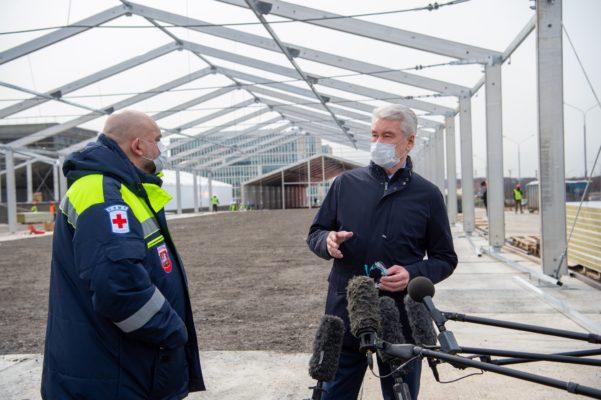 Собянин рассказал об усиленном режиме контроля очистки питьевой воды