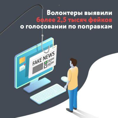 Волонтеры отлеживают недостоверную информацию о голосовании