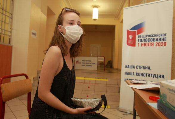 ЦИК: Более 2,8 млн москвичей проголосовали за поправки к Конституции