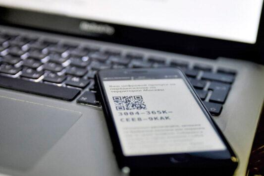 Более 50% QR-кодов в оформлено заведениям сферы услуг по их инициативе