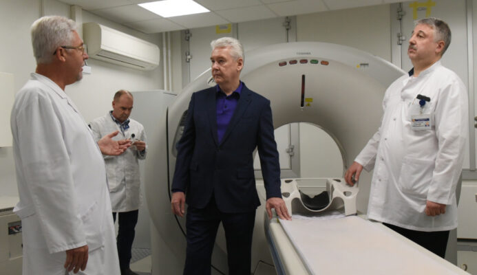 Собянин: Морозовская больница стала флагманом высокотехнологичной помощи детям