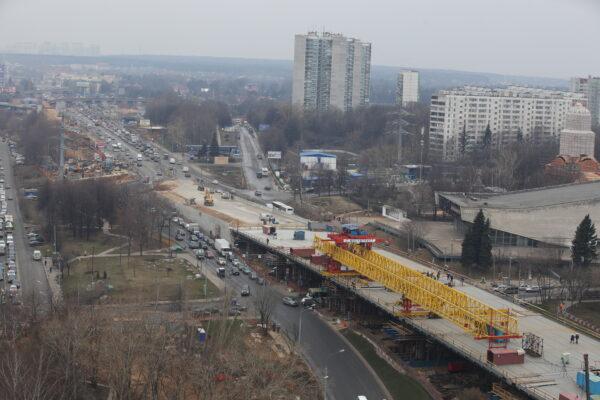 Стройкомплекс: Москва продолжает активное развитие транспортного каркаса