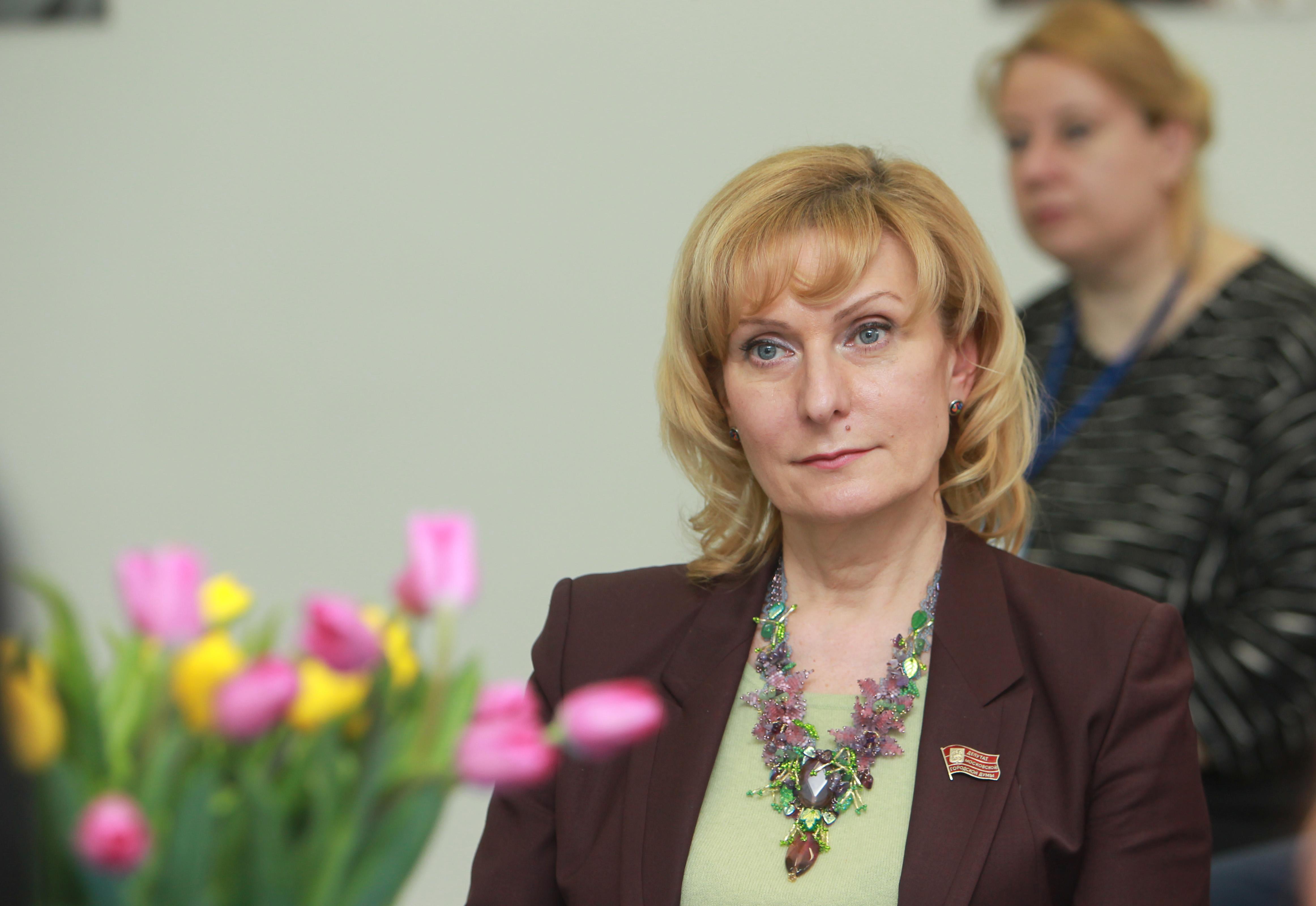На фото депутат МГД Инна Святенко