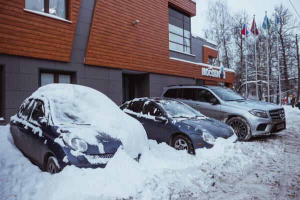 Снег из города вывезут
