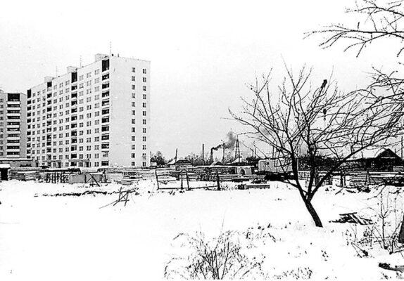 И снова ретро-фото зимнего Троицка.