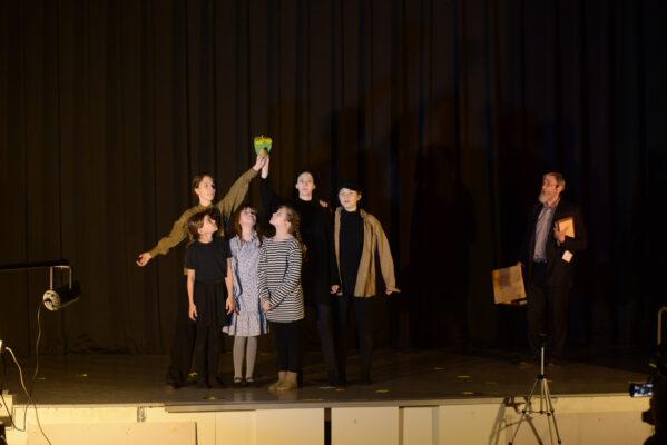 На сцене – Януш Корчак