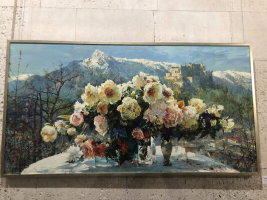 Выставка двух Ларис