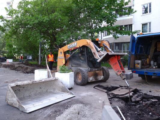 Площадка демонтирована. Но вернётся