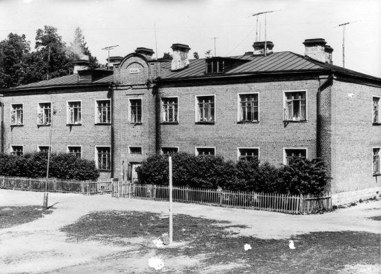 Кто помнит эти два дома в Парковом переулке