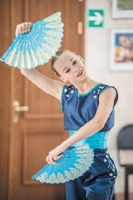 Диана в танце