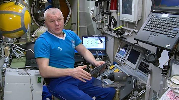 Космонавт Новицкий принял участие в электронном голосовании с борта МКС