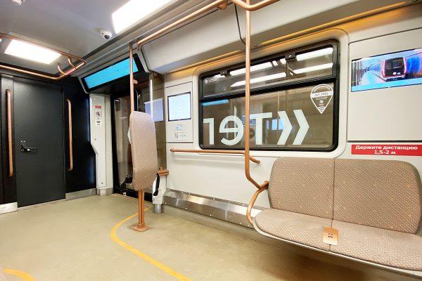 Посвященный 800-летию со дня рождения Александра Невского поезд запустили в метро